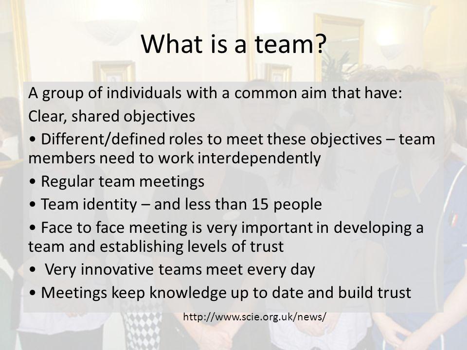 Teams Formal Informal