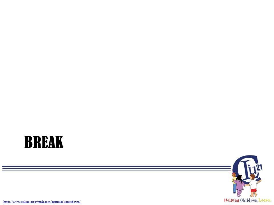 BREAK http://www.online-stopwatch.com/eggtimer-countdown/