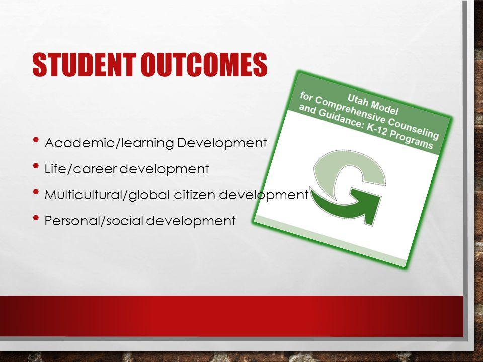 Academic/learning Development Life/career development Multicultural/global citizen development Personal/social development