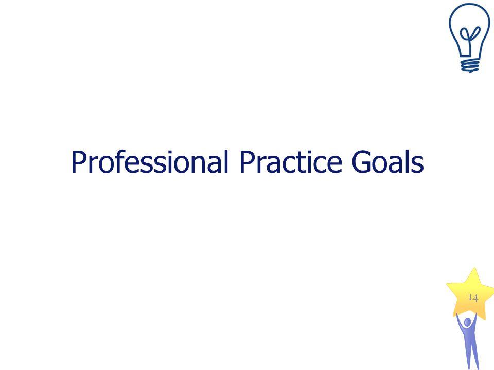 Professional Practice Goals 14