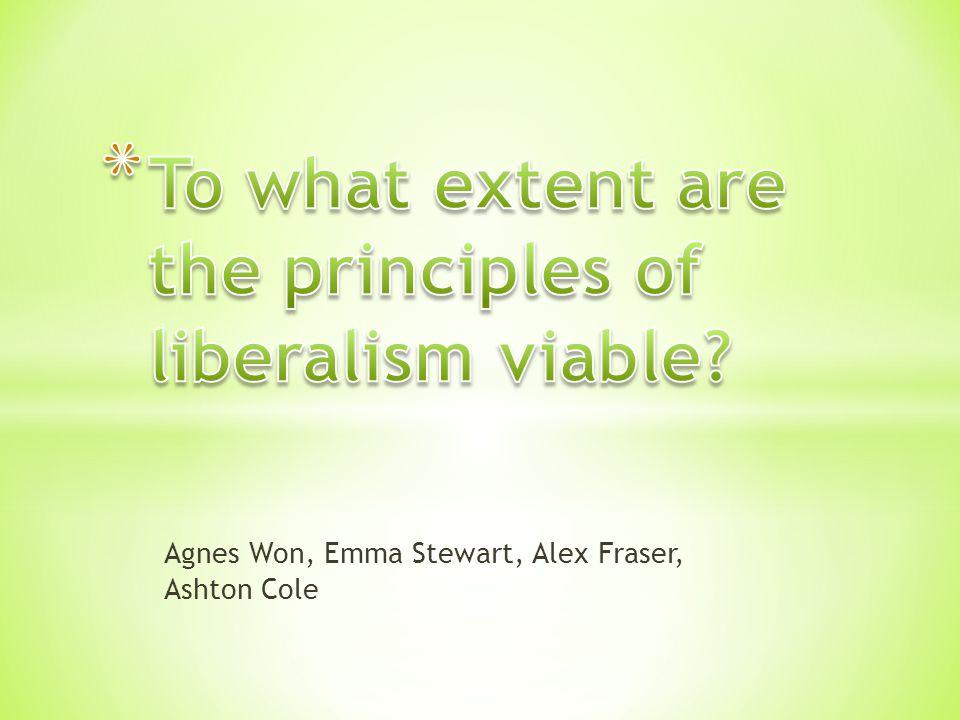 Agnes Won, Emma Stewart, Alex Fraser, Ashton Cole