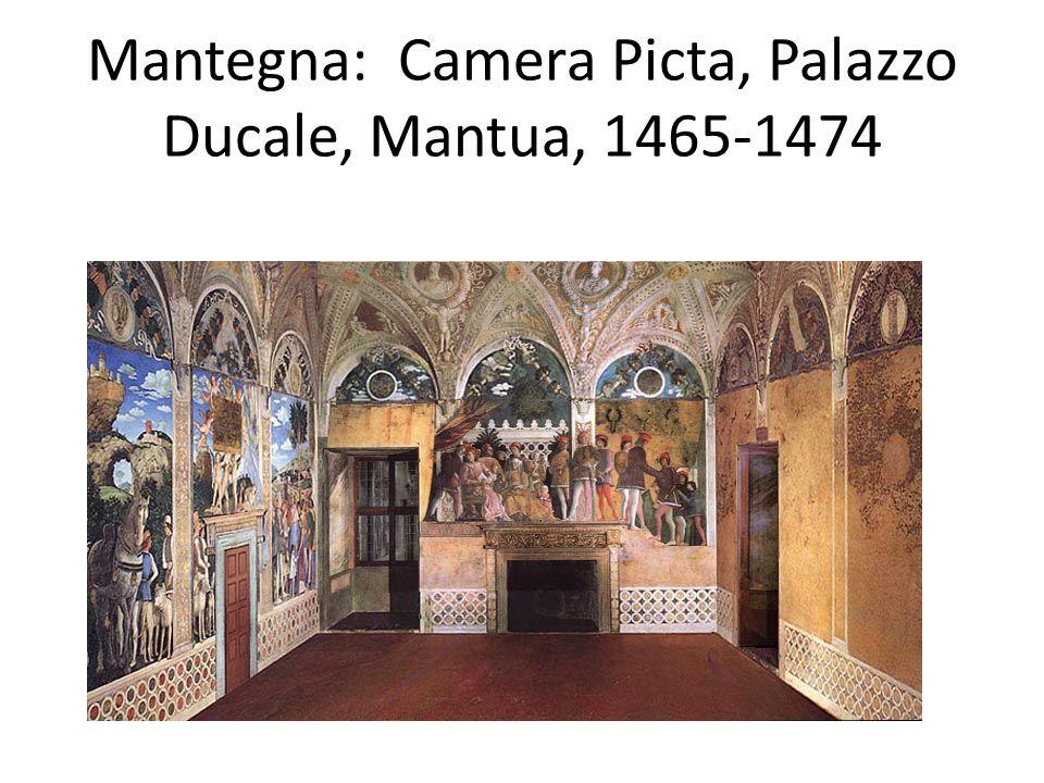 Mantegna: Camera Picta, Palazzo Ducale, Mantua, 1465-1474