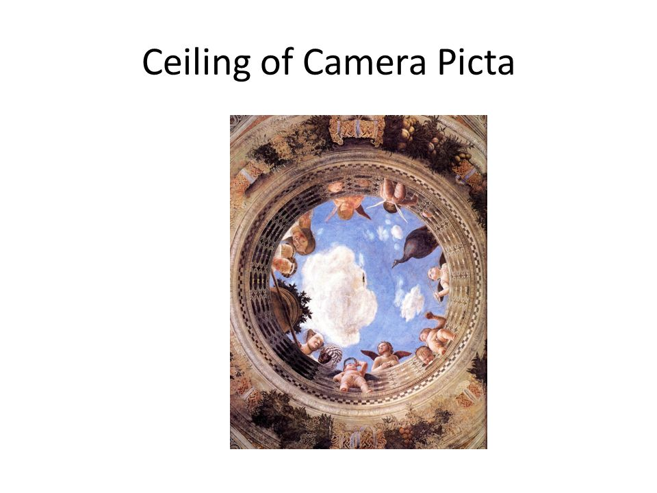Ceiling of Camera Picta