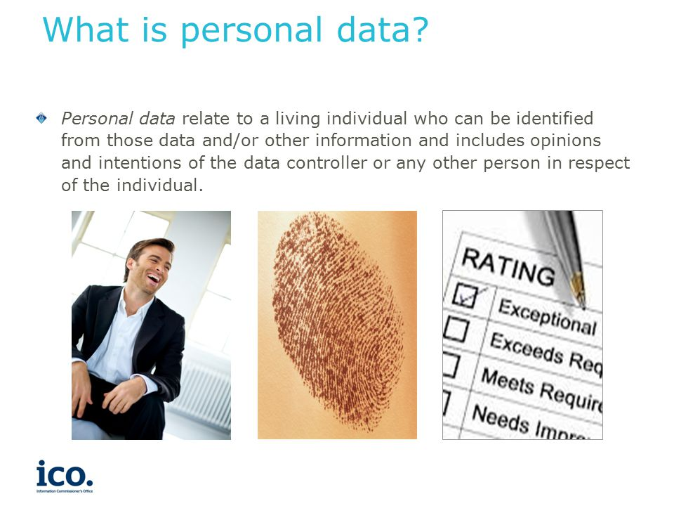 What is sensitive personal data.