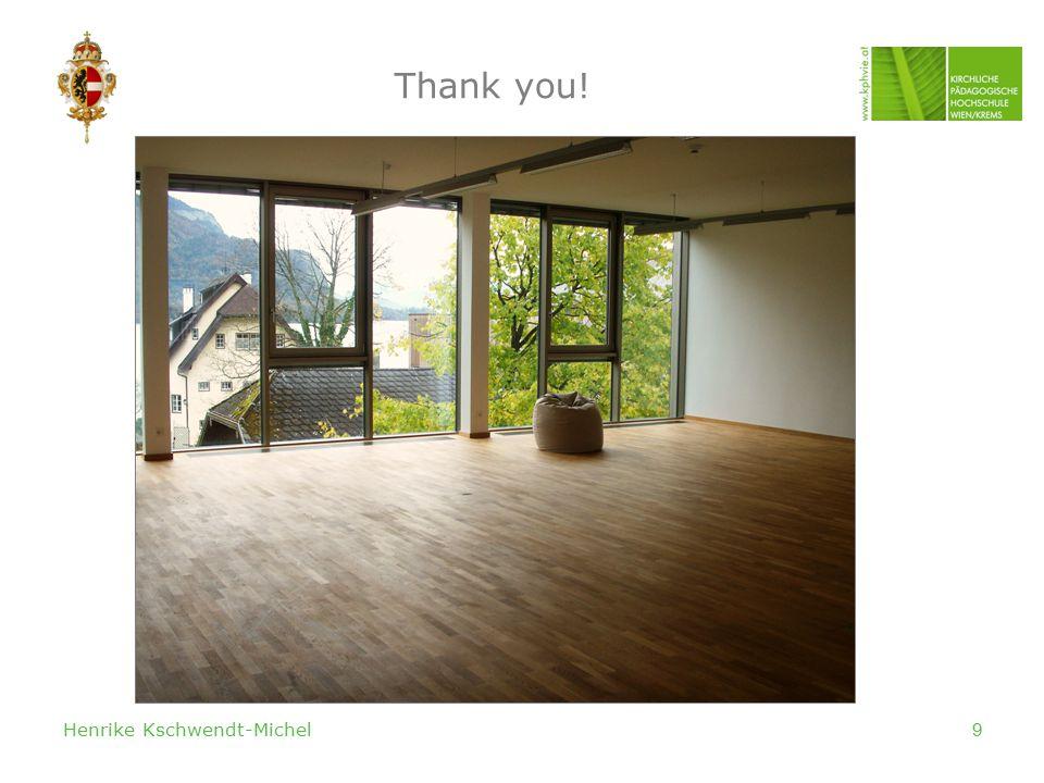 Henrike Kschwendt-Michel9 Thank you!
