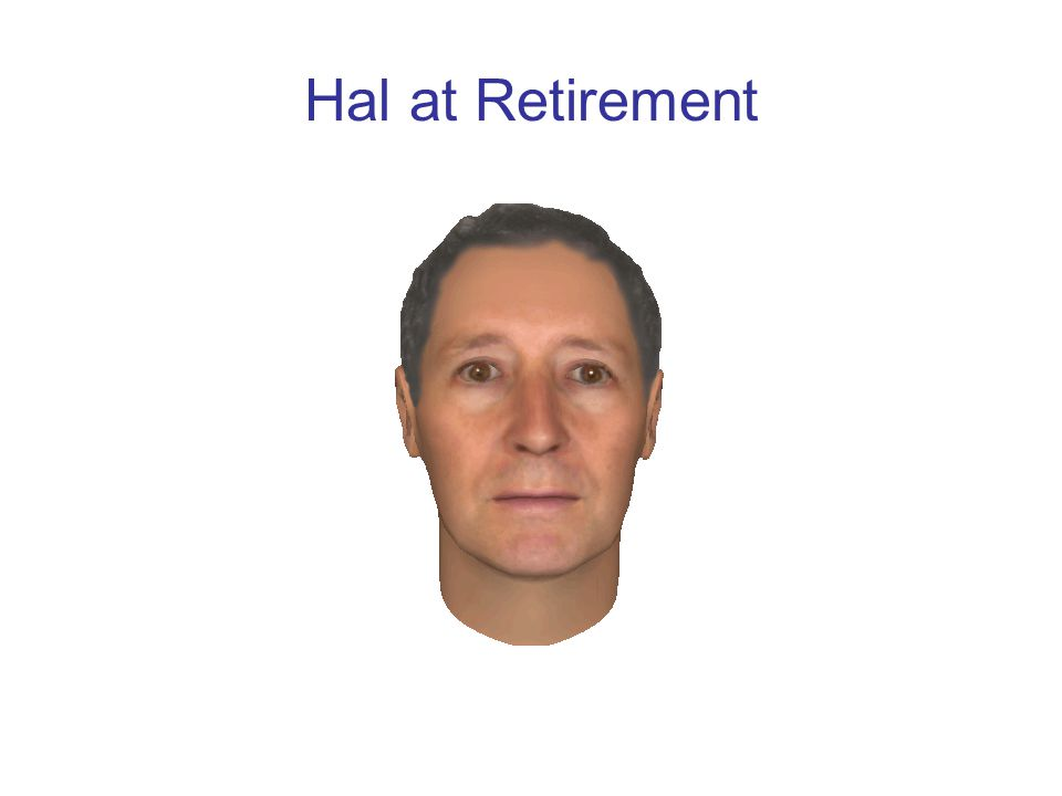 Hal at Retirement