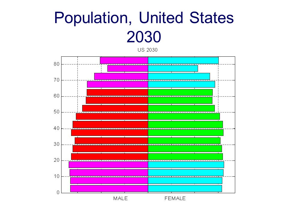 Population, United States 2030