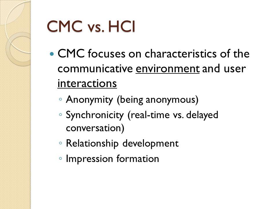 CMC vs.