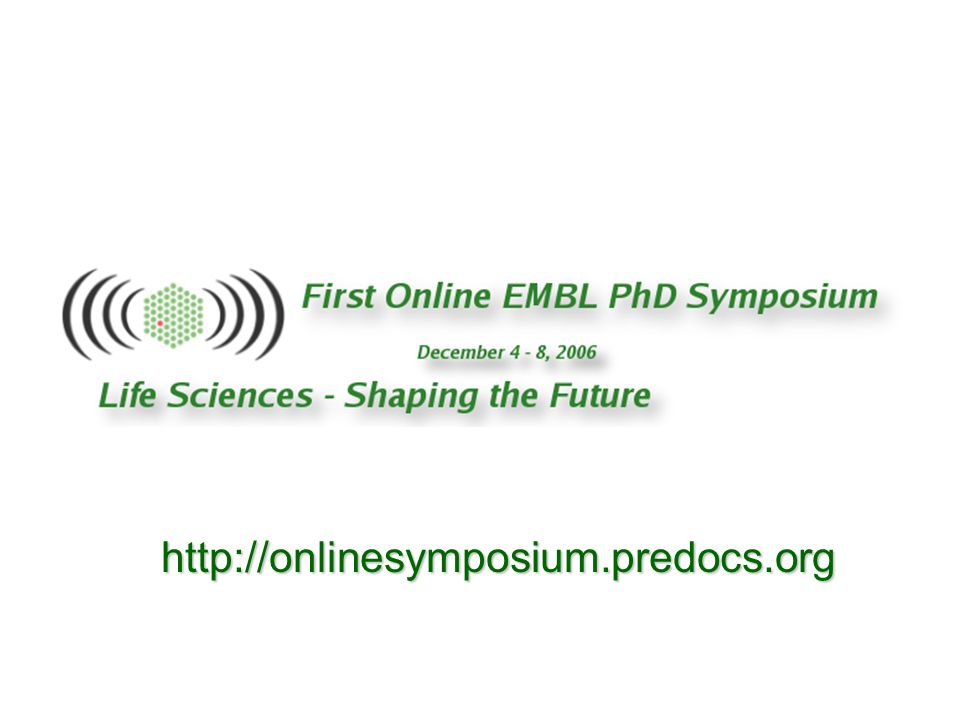 http://onlinesymposium.predocs.org
