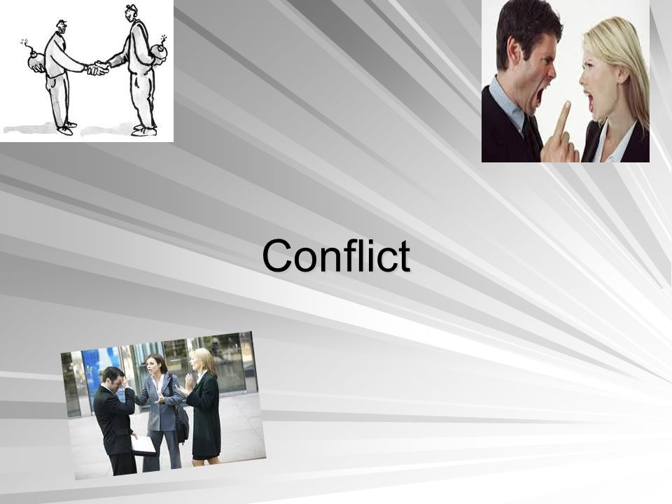 Conflict arising out of:  Role Ambiguity  Organizational Position  Personal Characteristics Role Conflict