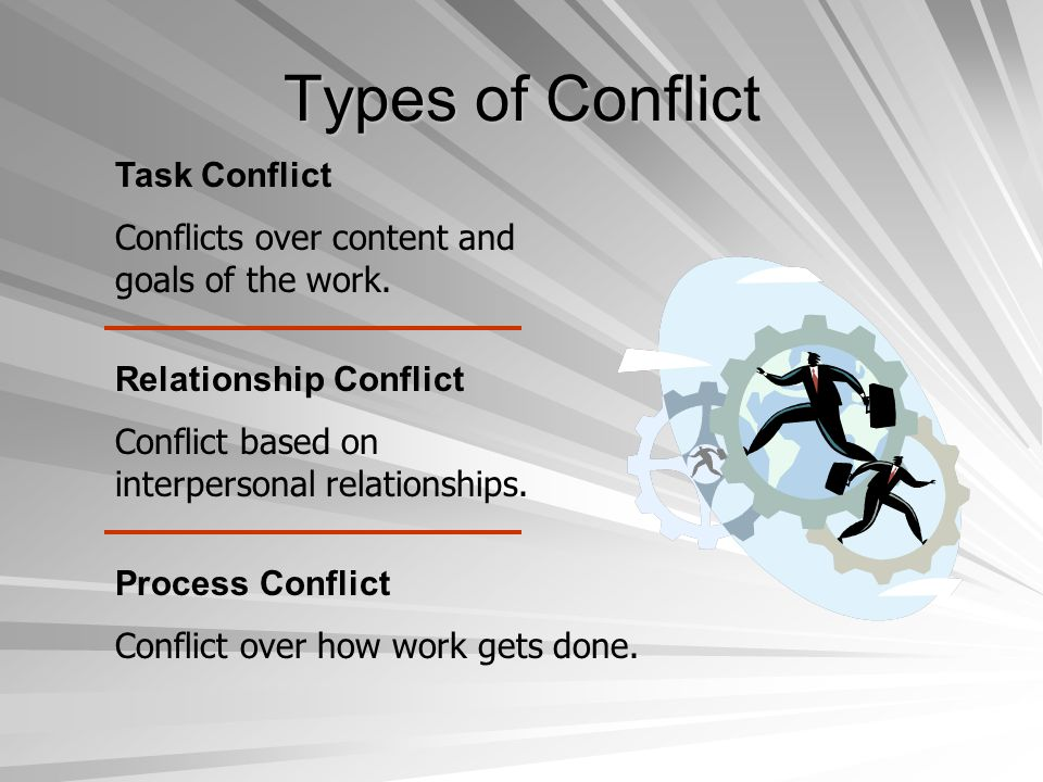 Conflict Management Techniques Conflict Resolution Techniques Problem solving Superordinate goals Expansion of resources Avoidance Smoothing Compromise Authoritative command Altering the human variable Altering the structural variables Conflict Resolution Techniques Problem solving Superordinate goals Expansion of resources Avoidance Smoothing Compromise Authoritative command Altering the human variable Altering the structural variables