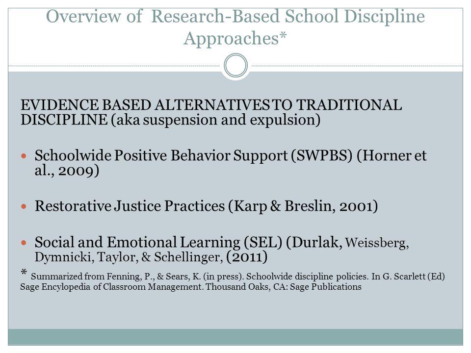 Schoolwide Positive Behavior Support (SWPBS) Schoolwide Positive Behavior Support (SWPBS) Universal (all students) Horner et al.