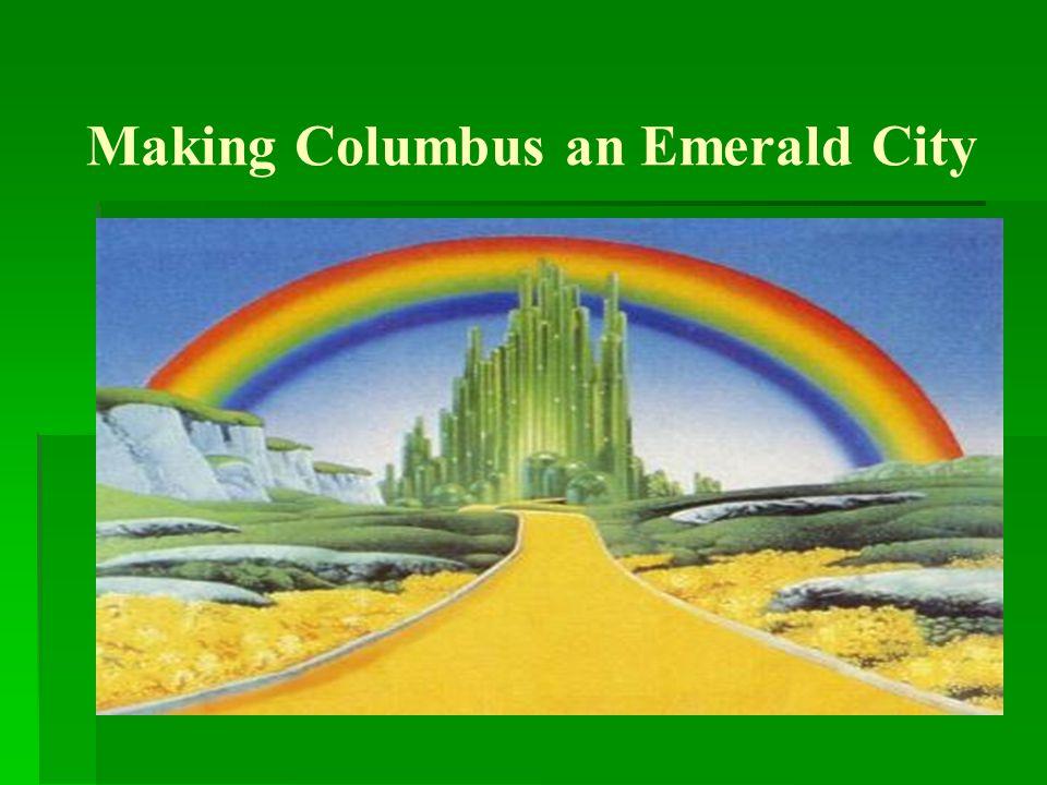 Making Columbus an Emerald City