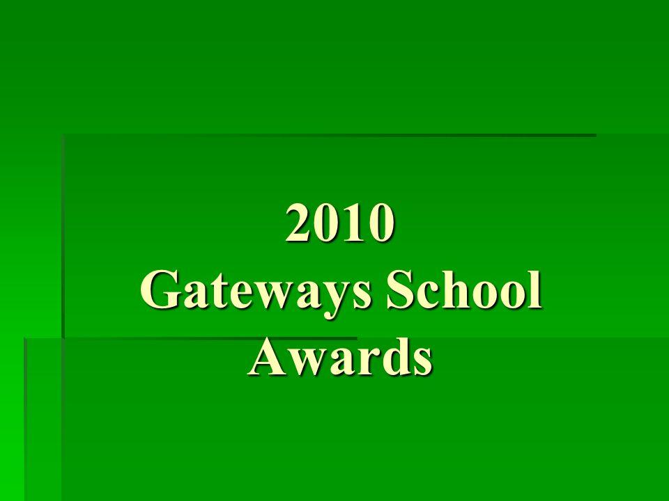 2010 Litter Prevention Awards