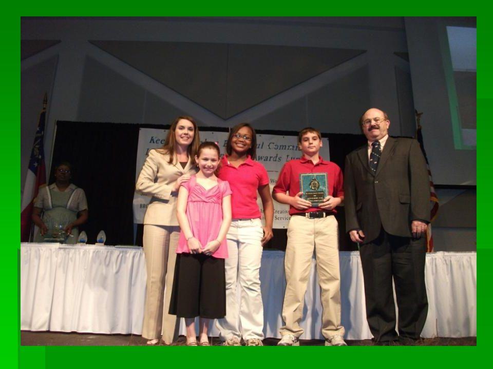 2010 Gateways Middle School Award Fort Middle School