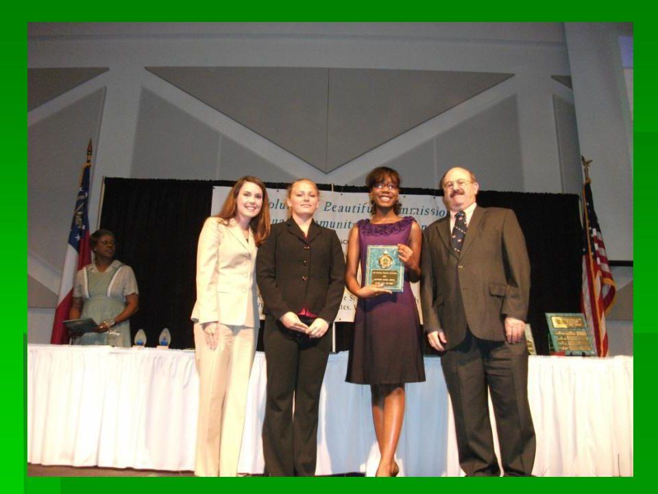 2010 Litter Prevention School Award Dimon Magnet Academy