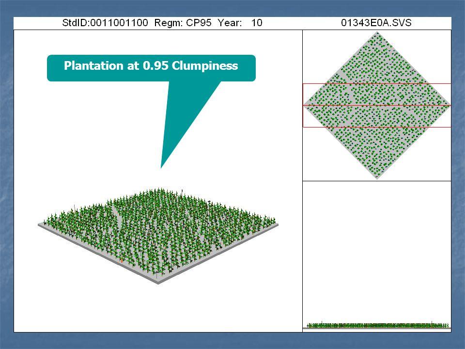 Plantation at 0.95 Clumpiness