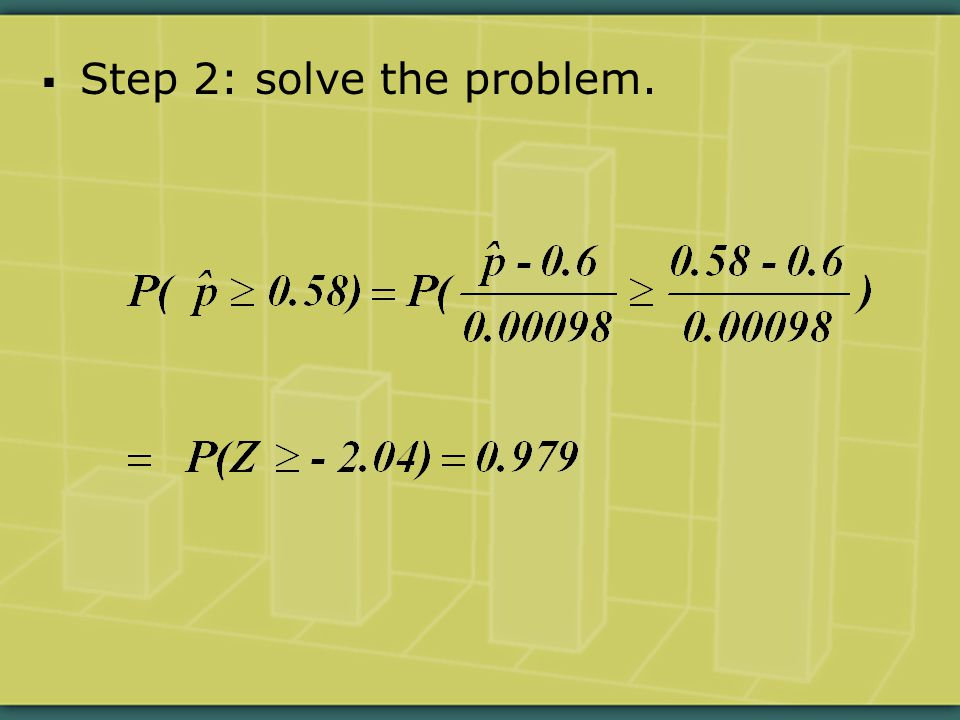  Step 2: solve the problem.