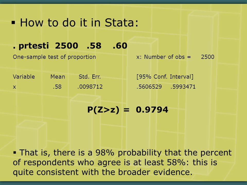 How to do it in Stata:.