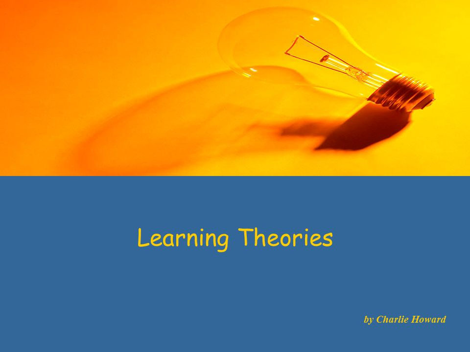 Learning Theories Cognitivism is a learning theory which attempts to answer how and why people learn by attributing the process to cognitive activity.