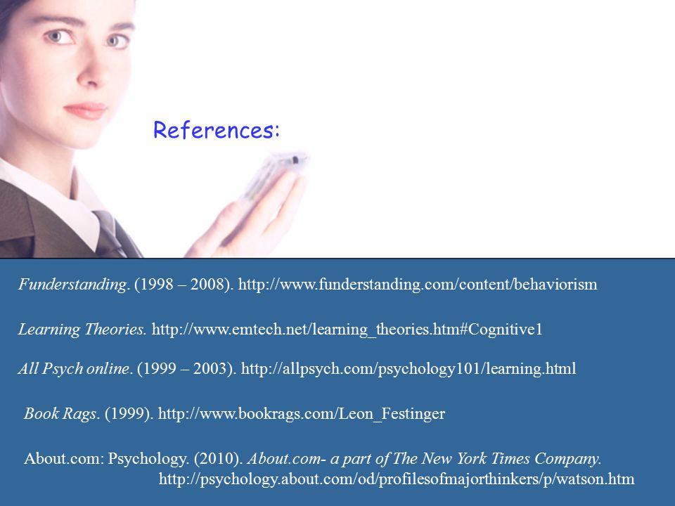 References: Funderstanding. (1998 – 2008).