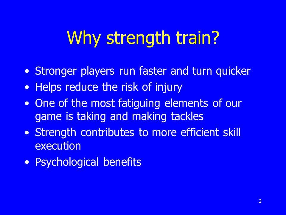 2 Why strength train.