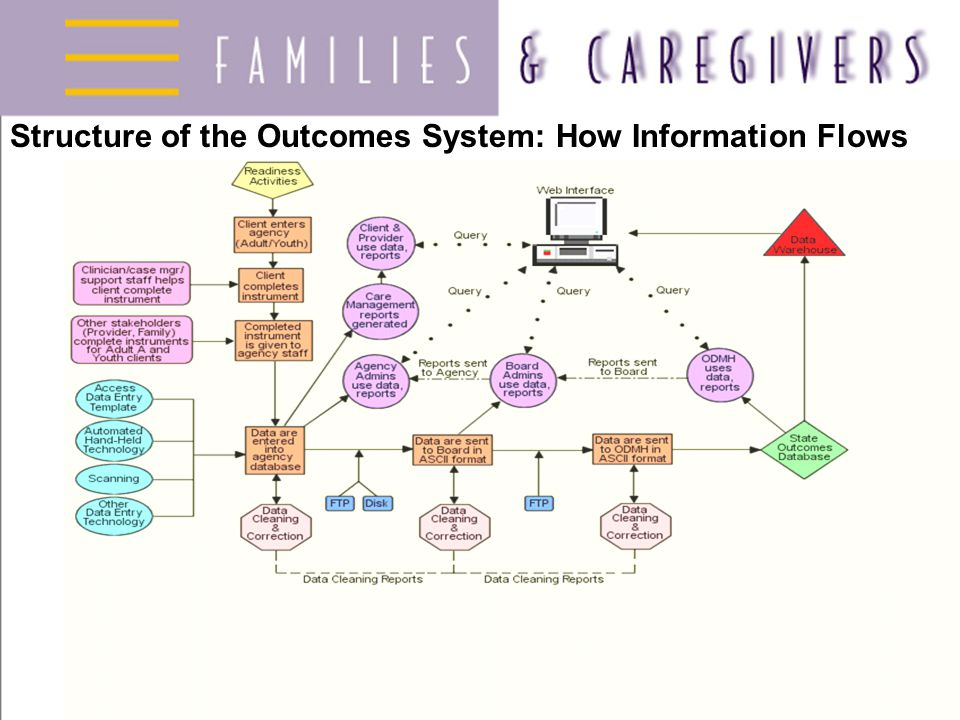 Structure of the Outcomes System: How Information Flows