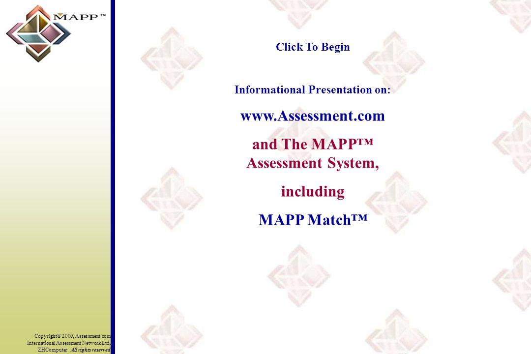 Copyright® 2000, Assessment.com International Assessment Network Ltd.