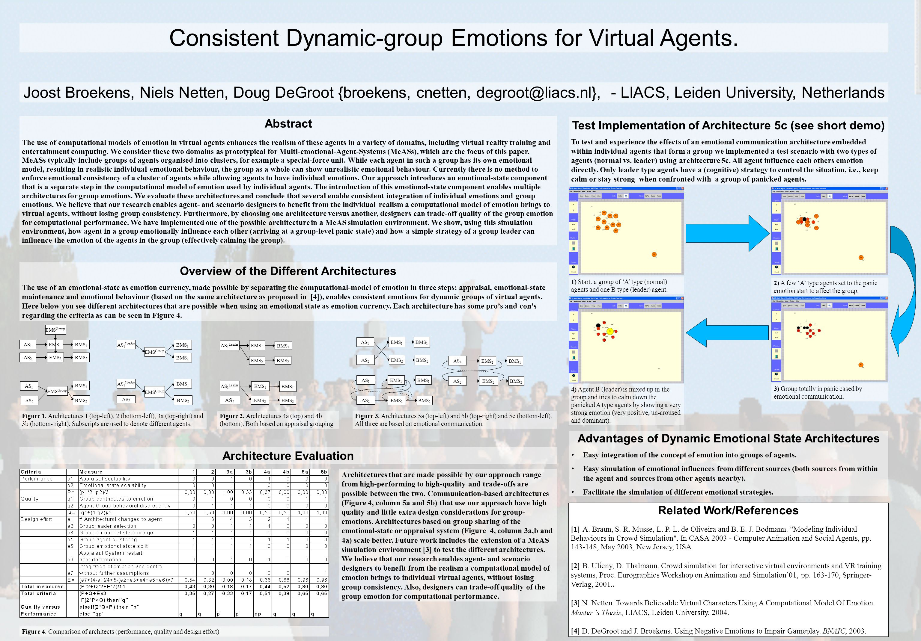 Consistent Dynamic-group Emotions for Virtual Agents.