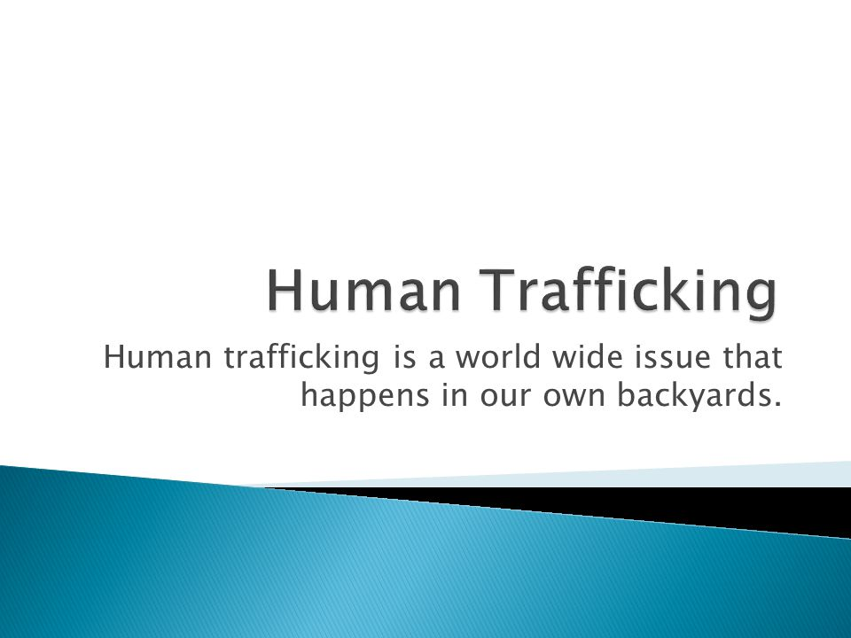 human trafficking in Wisconsin is a crime that disproportionally affects migrants, regardless of citizenship status-there will be significant overlap between social justice action for migrants and human trafficking efforts about 30% of identified trafficking victims are native-born U.S.