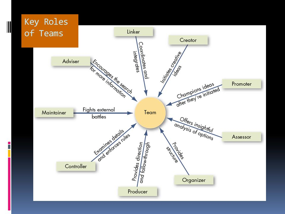Key Roles of Teams