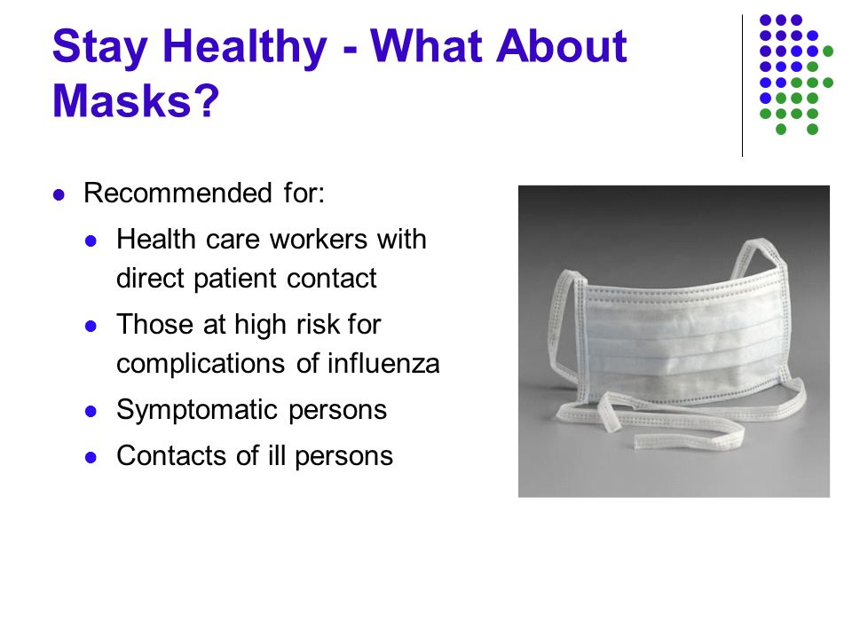 Stay Healthy - What About Masks.