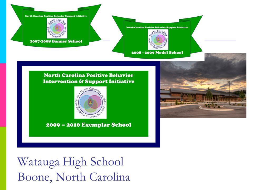 Watauga High School Boone, North Carolina