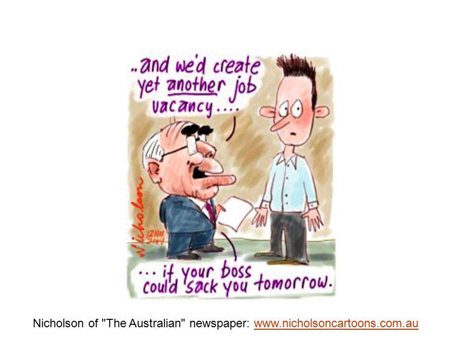 Nicholson of The Australian newspaper: www.nicholsoncartoons.com.auwww.nicholsoncartoons.com.au