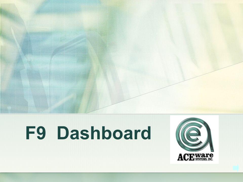 F9 Dashboard