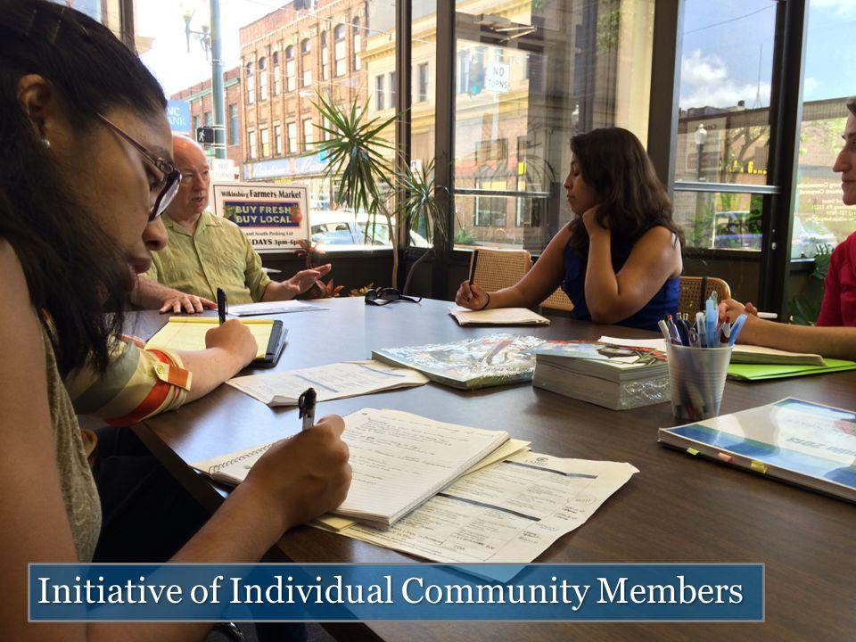 Initiative of Individual Community Members
