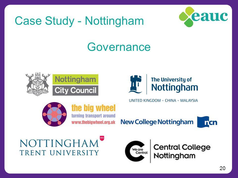 20 Governance Case Study - Nottingham