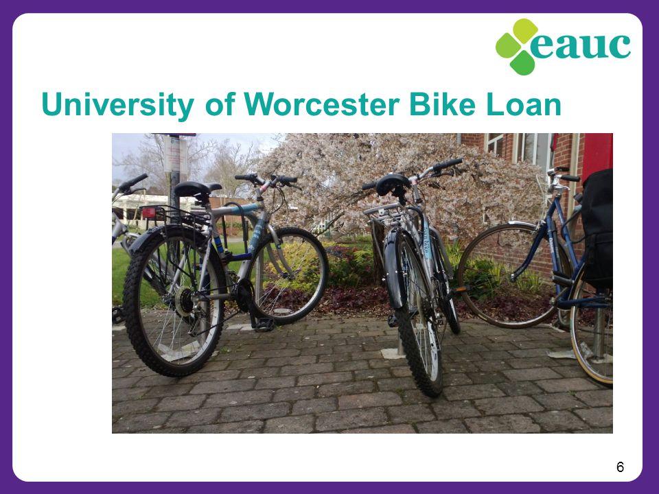 6 University of Worcester Bike Loan