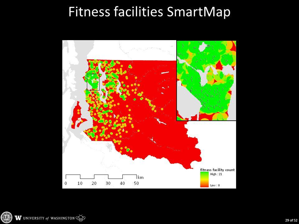 Fitness facilities SmartMap 29 of 52