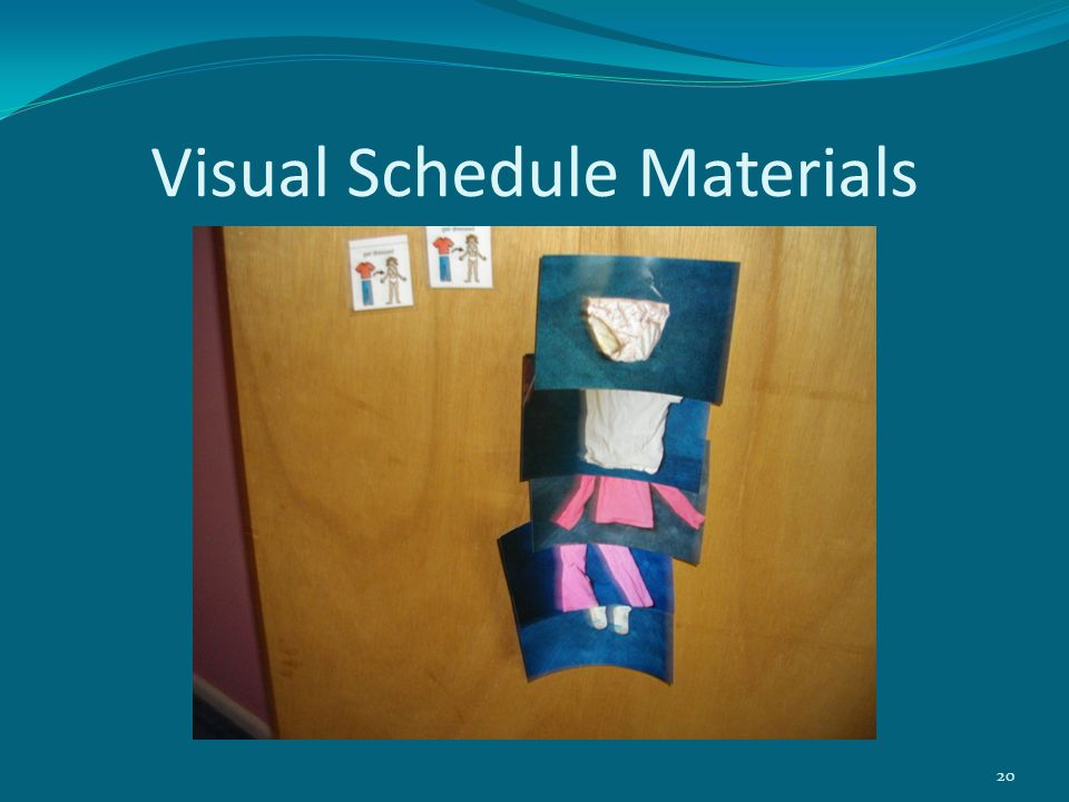 Visual Schedule Materials 20