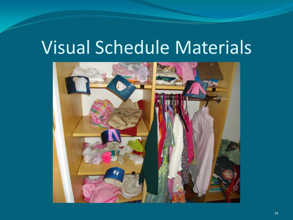 Visual Schedule Materials 21