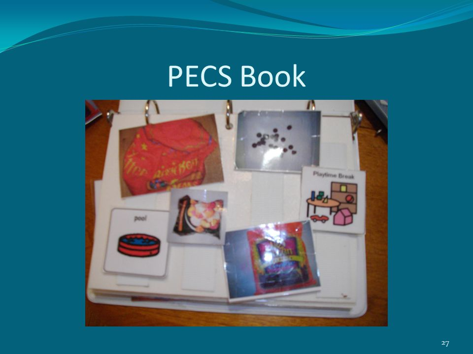 PECS Book 27