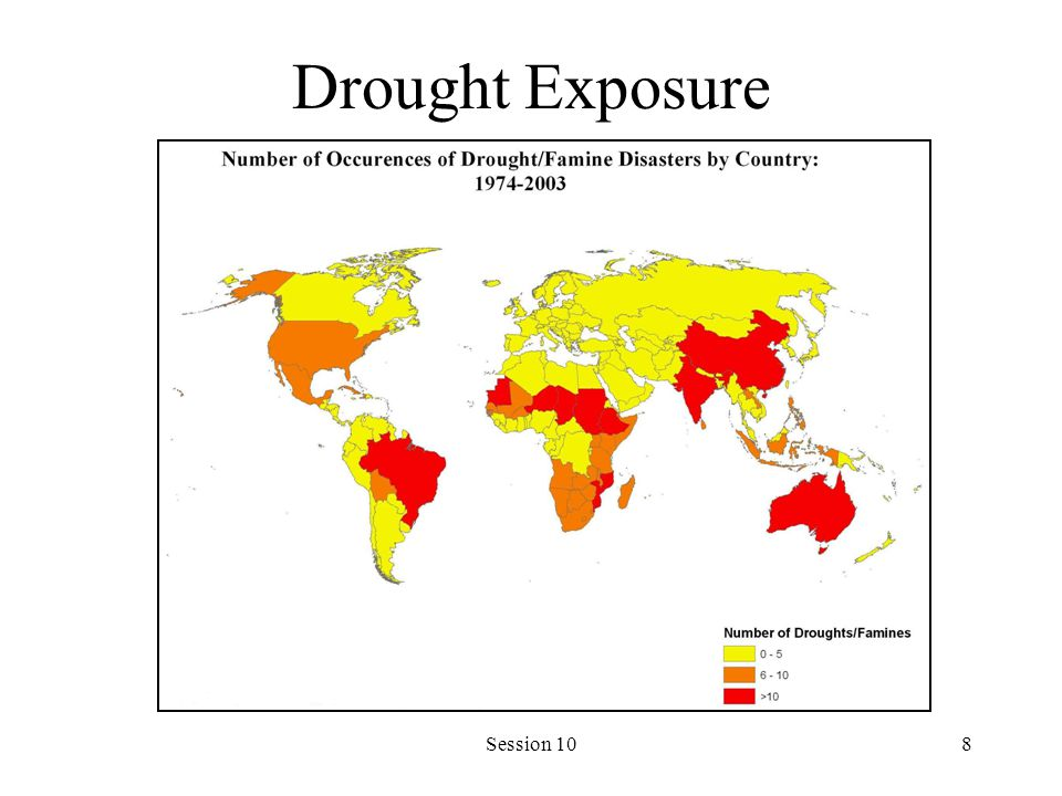 Session 108 Drought Exposure
