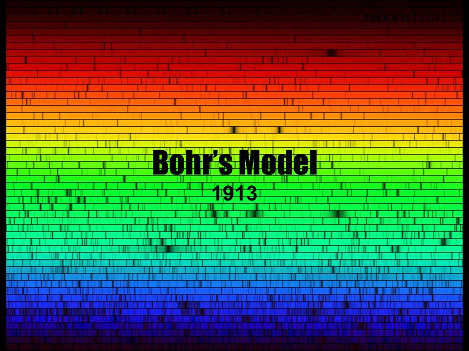 Bohr's Model 1913
