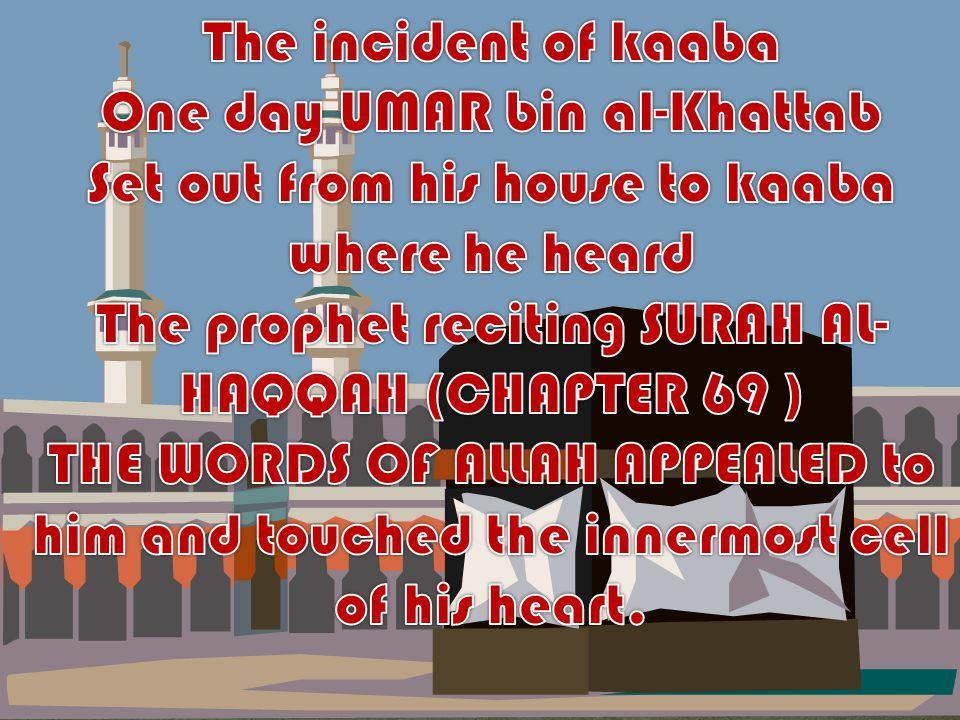 O Allah give strength to Islam especially through Umar bin al Khattab OR Amar bin hashim