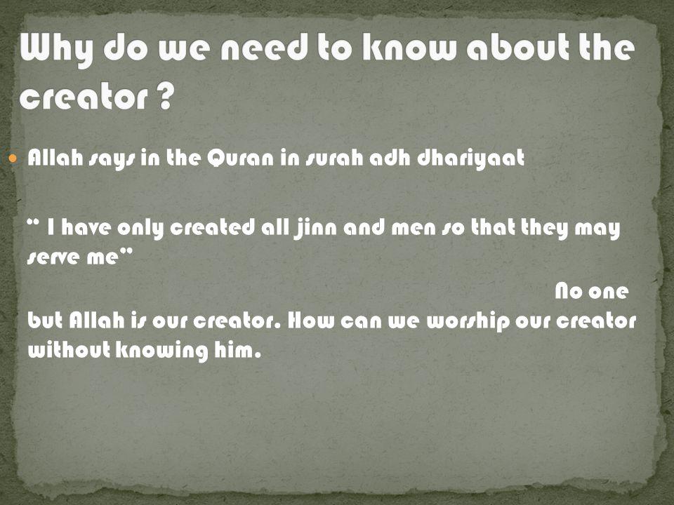 Emaan is the belief in the unseen. The six pillars of Islam: 1.