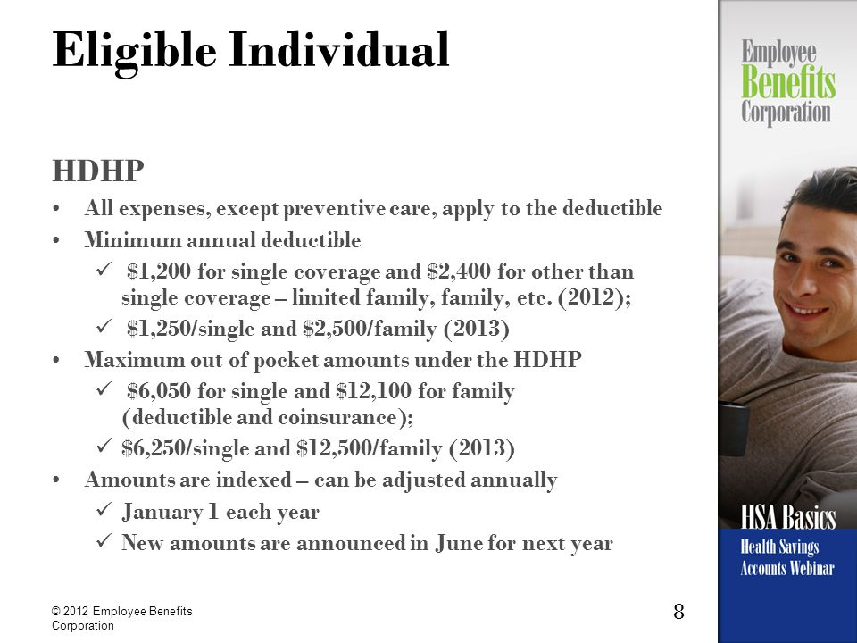 29 © 2012 Employee Benefits Corporation Participant marries (continued) Spouse drops his/her coverage.