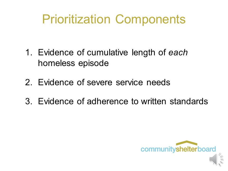 The Difference Between Dedication and Prioritization  Dedicated units in PSH programs can only be used, per the agency's contract, to house chronical