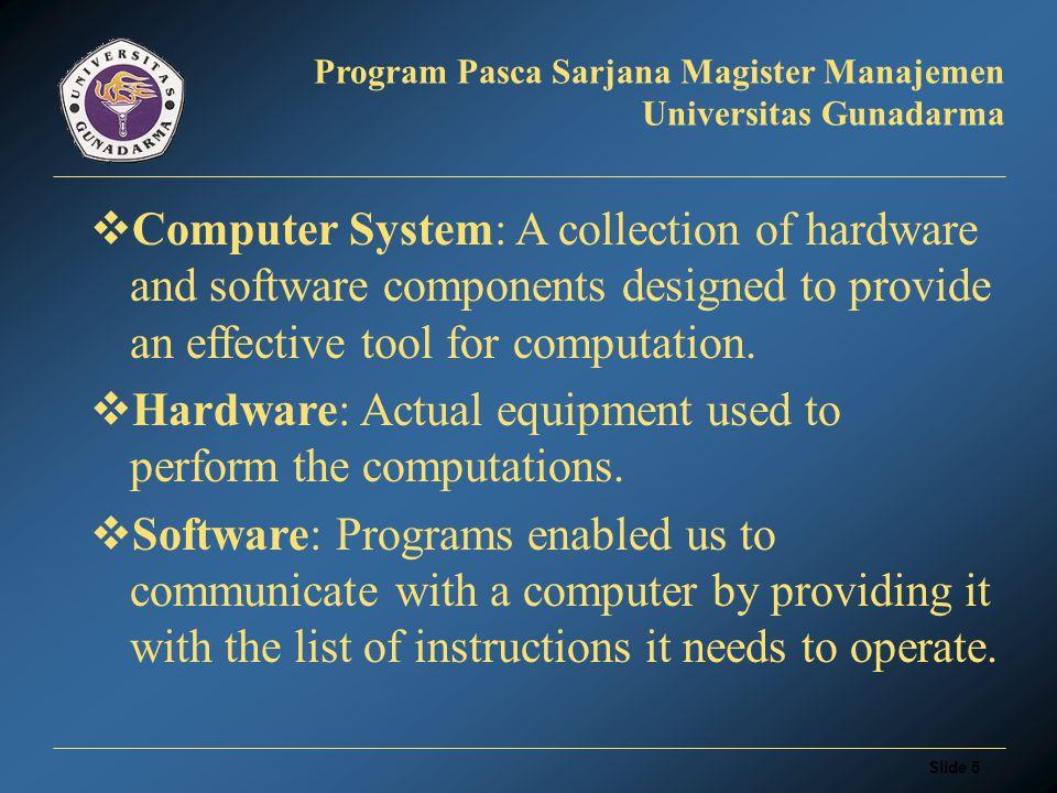 Slide 35 Program Pasca Sarjana Magister Manajemen Universitas Gunadarma EMAIL WEB BASED NON WEB BASED Netscape Eudora Pegasus Microsoft Mail Yahoo Hotmail gmx Themail etc