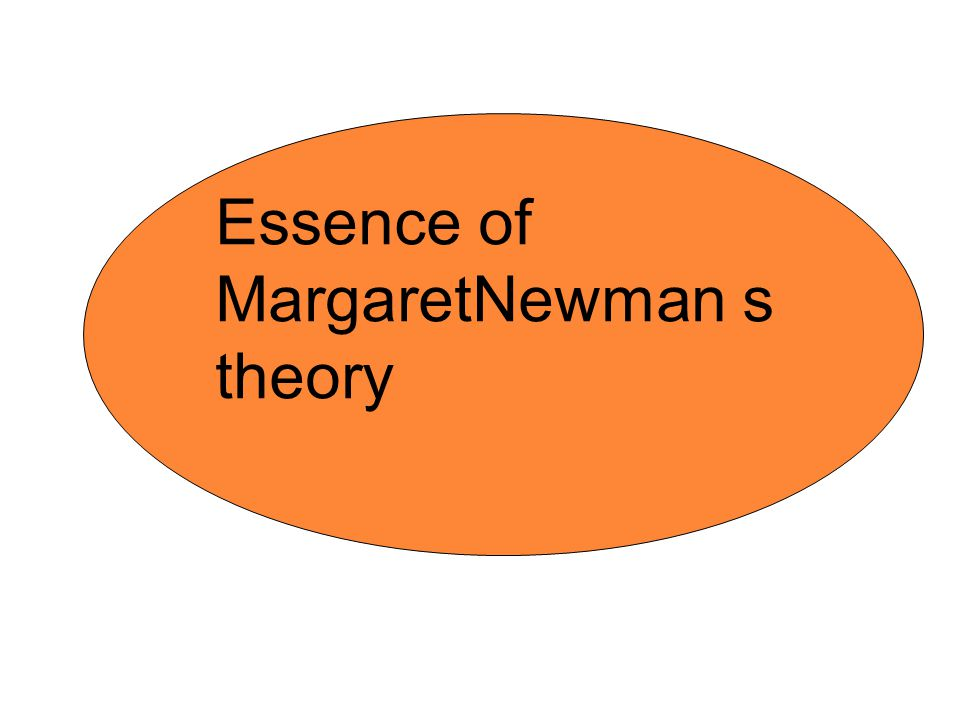 Essence of MargaretNewman s theory